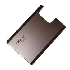 Original Battery Door Back Cover For Nokia N97 Mini Housing Case Brown Metal OEM
