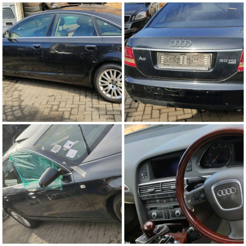 Stripping Audi A6 Car Spares Parts