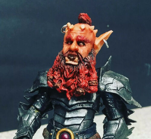 Mythic Legions Custom Head Xaltard