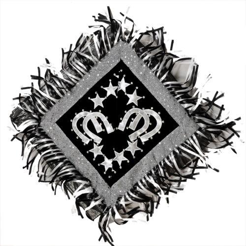 BLACK Details about  /WESTERN SHOW BARREL RACING RODEO SADDLE BLANKET PAD