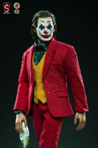 SWTOYS FS027 1//6 The Joker Full Figure Suit Version Joaquin Phoenix Male Model