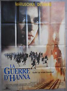 Affiche-LA-GUERRE-D-039-HANNA-Hanna-039-s-War-MENAHEM-GOLAN-Ellen-Burstyn-120x160cm