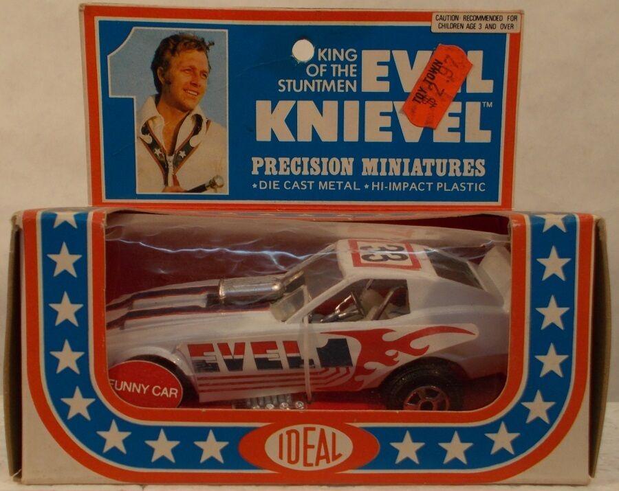 Evel Knievel King Of The Stuntmen - Precision Miniatures Diecast Funny Car (MIB)