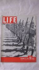 Life Magazine December 30th 1940 Britain's Desert Fighters Cover Publisher Time