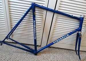 58cm-Pinarello-Treviso-Vintage-Italian-steel-frame-set-Refinished