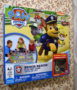 Paw-Patrol-Beach-Rescue-Play-Mat-Game-Replacement-Parts-amp-Pieces-2014-Spin-Mastr