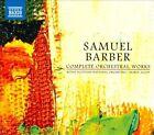 Barber: Complete Orchestral Works (CD, Aug-2010, 6 Discs, Naxos (Distributor))