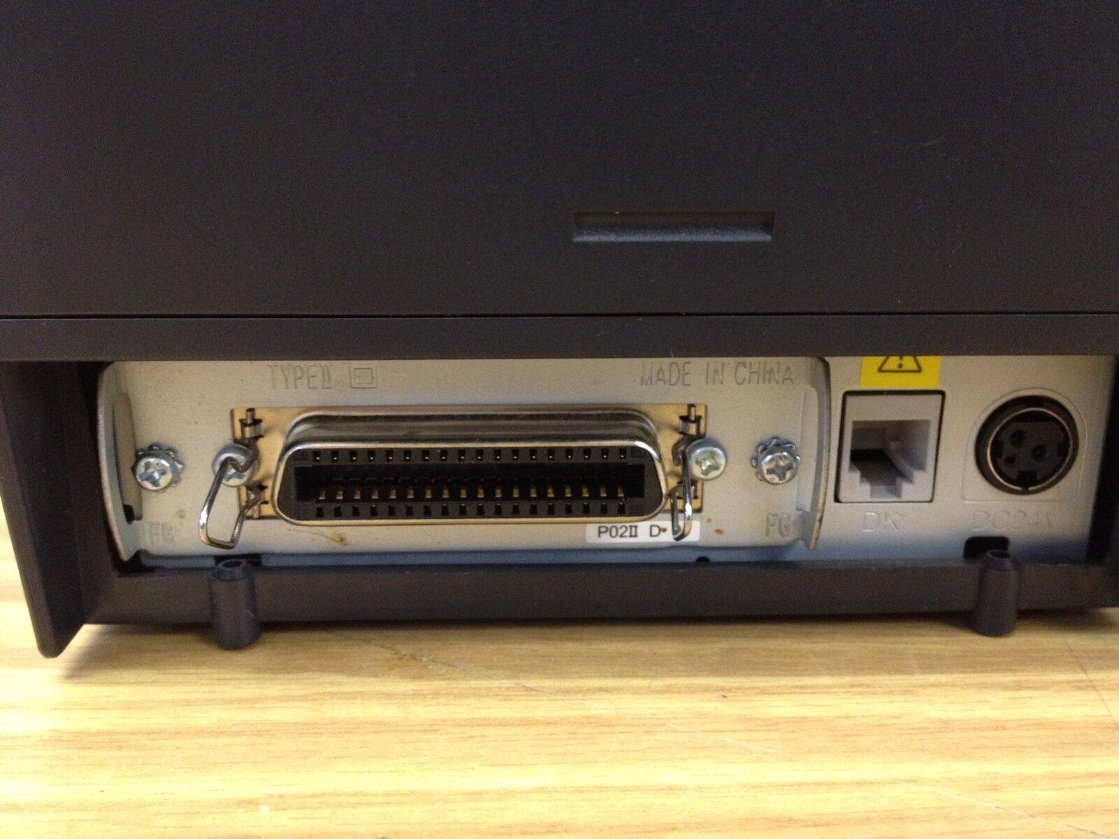 Epson Epson Epson superior de la línea Tm-t88iv Gris bonito refurb libre con fuente de alimentación Paralelo c22861