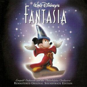 Fantasia / 1940 - Various - Walt Disney - Remastered 2 CD USA - Score Soundtrack