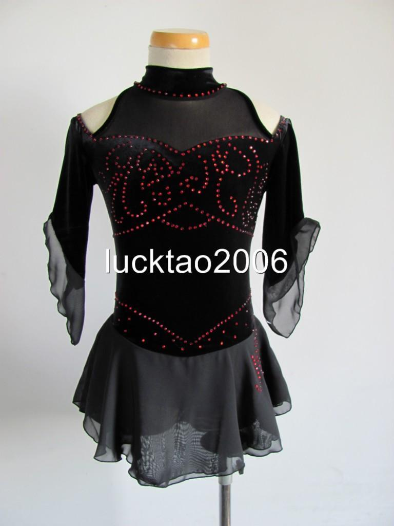 2018 new style Figure Skating Dress Ice Skating competition Dress 8108 size 12