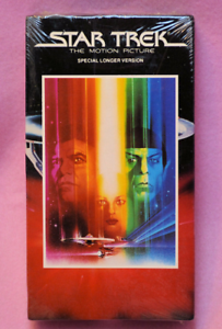 Star-Trek-The-Motion-Picture-Sealed-VHS-Tape-William-Shatner-Leonard-Nimoy