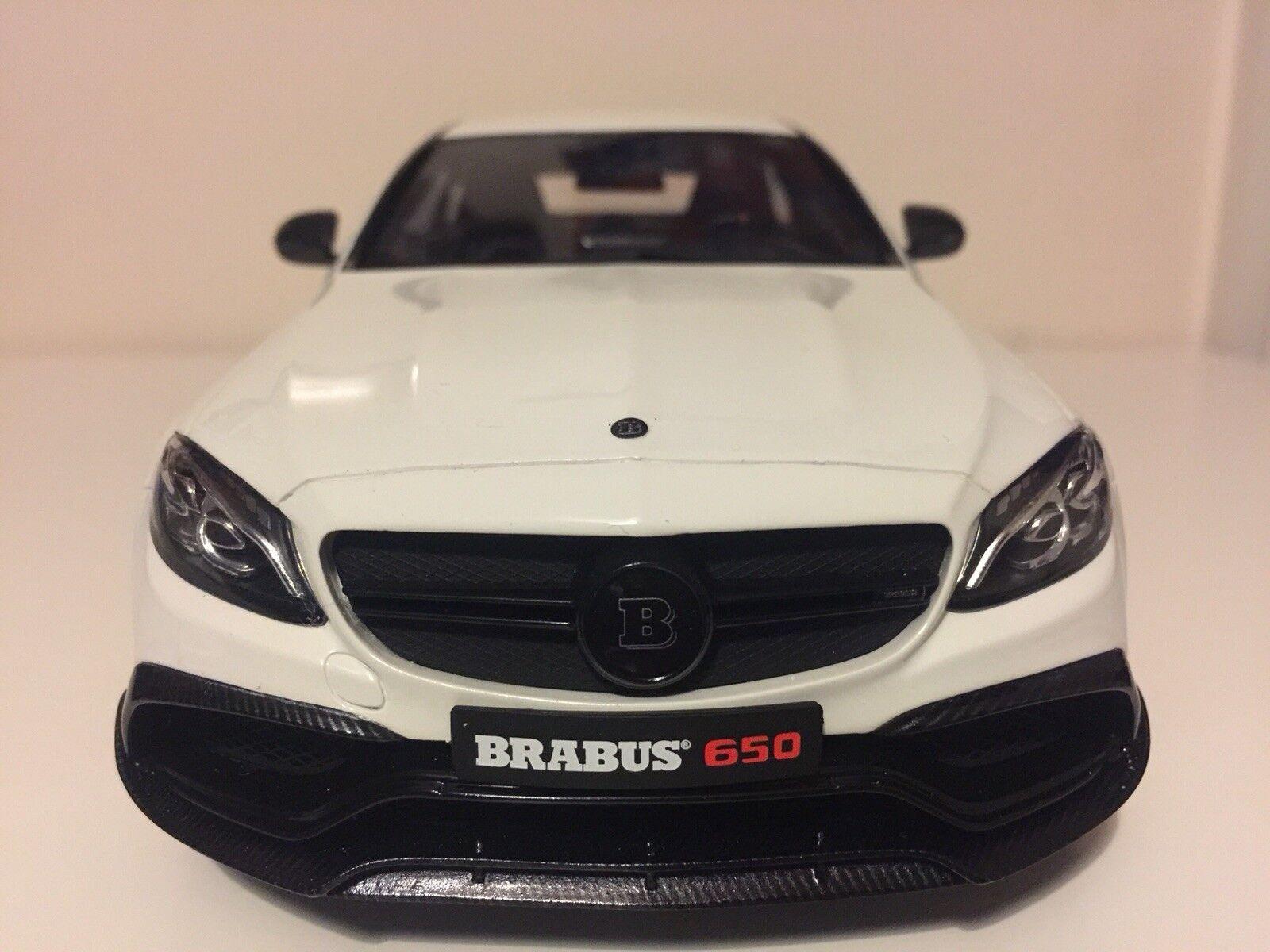 GT Spirit Mercedes-Benz BRABUS 650 2015 Modèle ZM079 Voiture 1 18 Nouveau