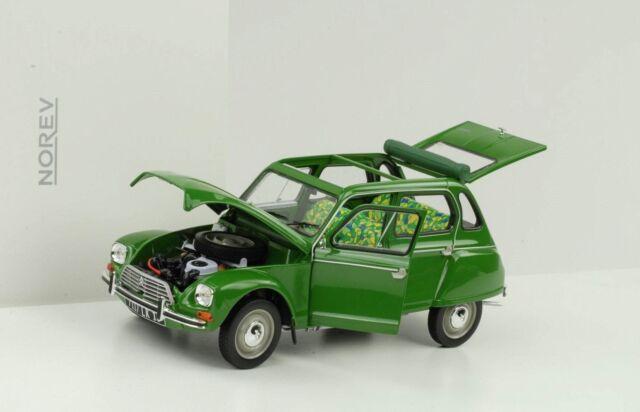 Citroën Dyane 1975 6 Green Diecast 1:18 Norev 181621 New Boxed