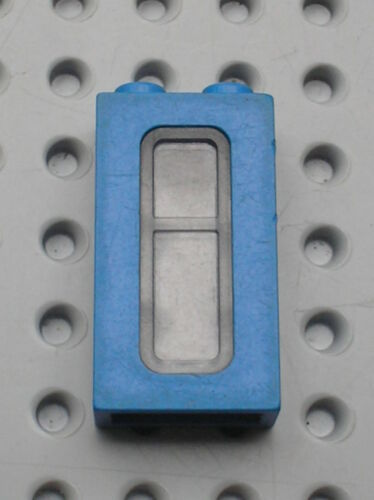 Fenetre bleue LEGO TRAIN Blue window ref 4035 Set 4534 7710 6694