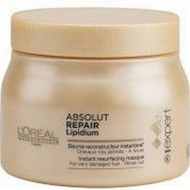 Baume Absolut Repair Lipidium 500ml l'oréal - cheveux secs et sensibilisés