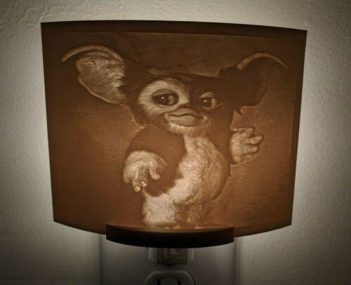 Gizmo Gremlins Movie Lithophane Incandescent Night Light Lamp