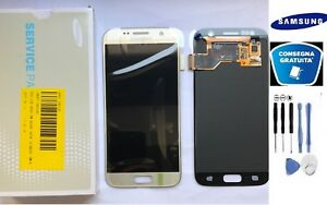 DISPLAY-LCD-TOUCH-SCREEN-ORIGINALE-SAMSUNG-GALAXY-S7-G930F-GOLD-SM-G930F-KIT