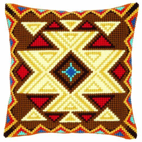 Geometric Motif I Vervaco Cross Stitch Cushion Front Kit PN-0021420