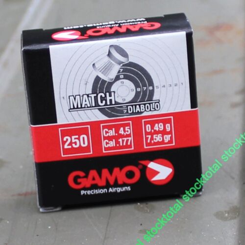 12 CAJAS DE  250 BALINES MATCH DIABOLO 3000 BALINES CAJA CARTON CALIBRE 4,5 pg