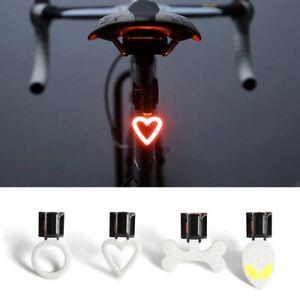 3in1 Bicyclette Alarme Verrouillage Vélo Lampe Feu Arrière Fixation Lumière FR