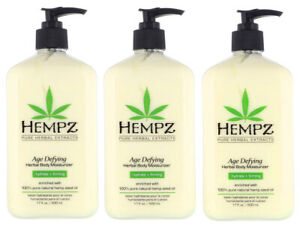 Hempz-AGE-DEFYING-Lotion-Herbal-Body-Moisturizer-After-Tan-Lotion-3Pack-17-Oz