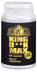 KING DI*K MAX Pillen länger dicker Penis Penisvergrößerung