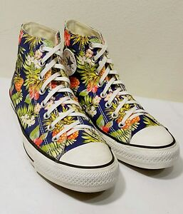 Colored Hi Sz9 Floral Canvas Multi 5 Converse Women's Sneakers Top 3ARLqj45