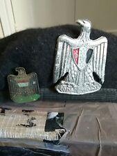 Captured 1st gulf war iraqi army beret inc 1970s badge