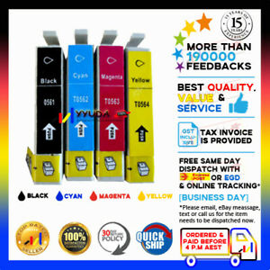 10-NON-OEM-INK-CARTRIDGE-T0561-4-for-Epson-R250-RX430-RX530-STYLUS-PHOTO-PRINTER