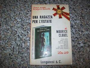 M-CLAVEL-UNA-RAGAZZA-PER-L-039-ESTATE-LONGANESI-I-LIBRI-POCKET-N-65-1966