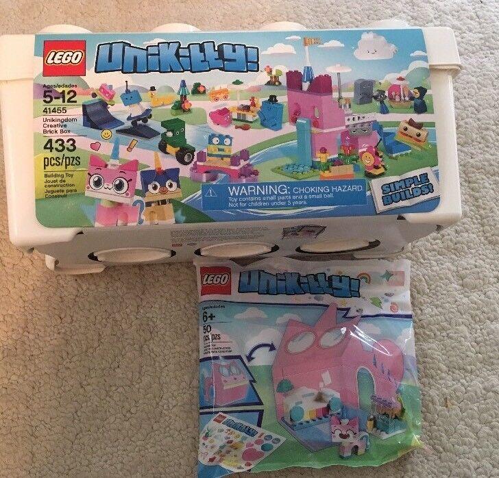 Nuevo LEGO Set 41455 Unikitty unikingdom Creative Ladrillo Caja Y Juego De Sala De Castillo