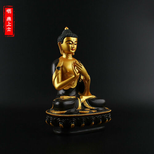 Tibetan Buddhism Hand painting resin statue Car decoration Vairocana Buddha A29