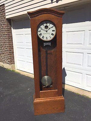 Standard Electric Time Company Master Clock Tallcase Runs? Springfield MA