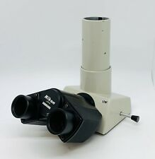 New Listingnikon Uw Microscope Ultra Wide Trinocular Head Optiphot Labophot Cfuw 30mm
