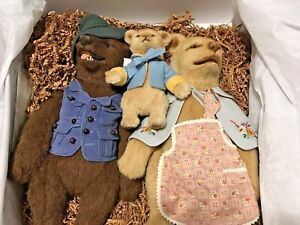 R-John-Wright-American-Artist-Stunning-Goldilocks-amp-The-Three-Bears-MIB-New