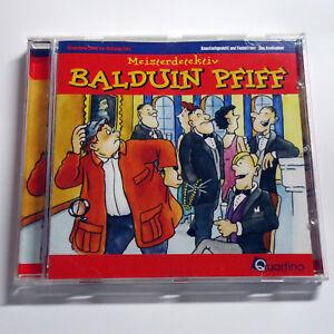 Meisterdetektiv Balduin Pfiff - Knautschgesicht Fiedelfranz / Knallophon - CD