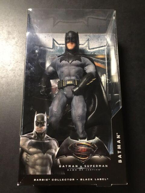 BATMAN Barbie Collection BLACK LABEL Batman V Superman DAWN OF JUSTICE Mattel