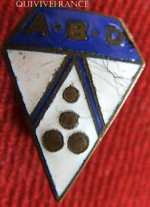BG5176 - INSIGNE ASSOCIATION DE BILLARD ABD