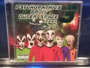 Insane Clown Posse - Psychopathic From Outer Space vol. 3 CD twiztid boondox abk