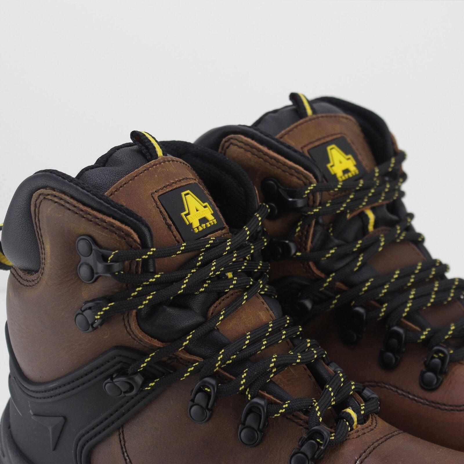 Amblers Safety FS197 S3 Unisex Mens Womens Leather S3 FS197 Steel Toe Safety Boots Brown 54f148