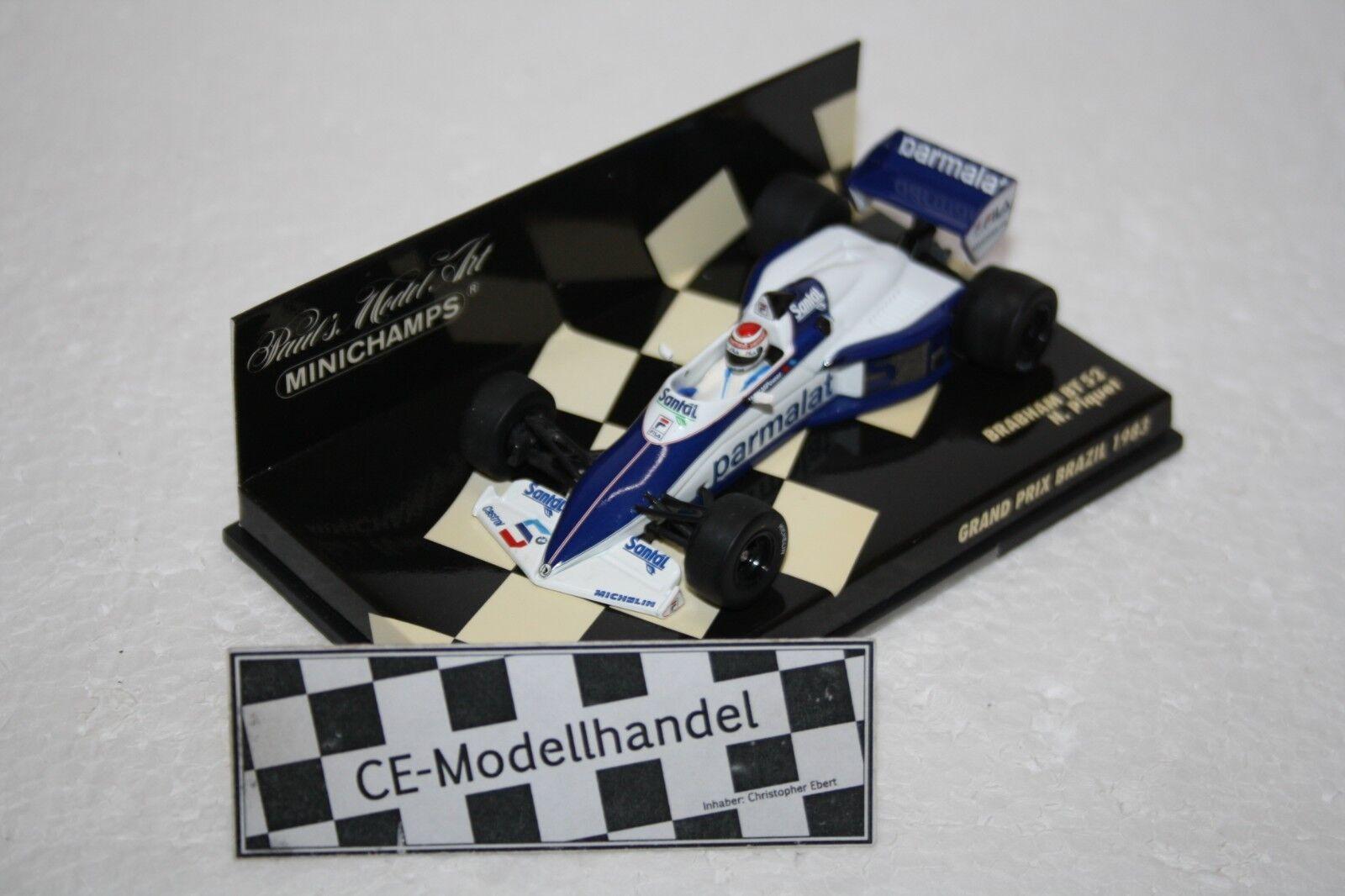 Brabham bt52 N. Piquet Grand Prix BRAZIL  1983  MINICHAMPS  1 43
