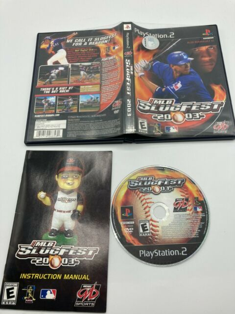 Sony PlayStation 2 PS2 CIB Complete Tested MLB Slugfest 2003 Ships Fast