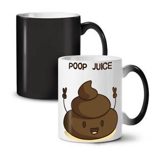 Poop Juice NEW Colour Changing Tea Coffee Mug 11 oz | Wellcoda