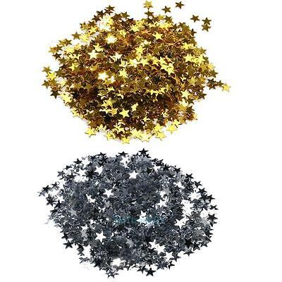 3000/ 6000pcs Glitter 3D Star Sequins Stickers Decals Nail Art Tips DIY Manicure