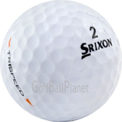 48 Srixon Trispeed / Trispeed Tour Used Golf Balls Near Mint AAAA 4A