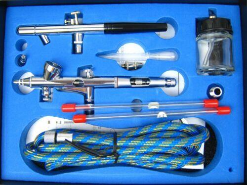 Airbrushpistole Airbrush Pistole Set BD-280K Airbrush-City