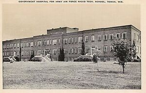 Details about Government Hospital for Army Air Force Radio Tech School  Tomah WI Postcard