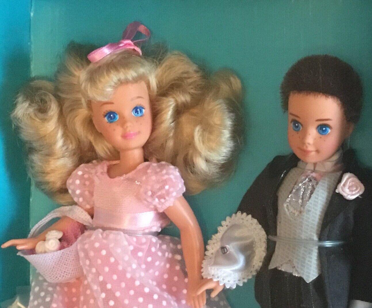 1990 Midge Wedding Day Flower Girl Kelly Ring Bearer Todd doll NRFB Barbie Alan