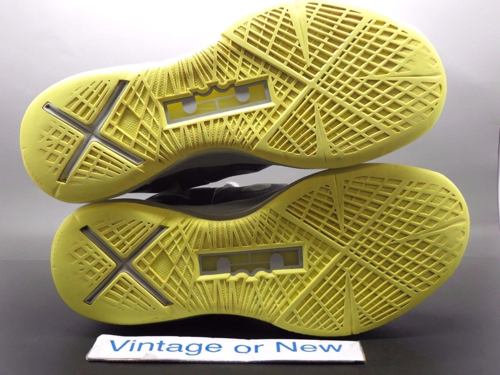 more photos 676c1 4c89a ... Nike LeBron X 10 10 10 Canary Diamond sz 8 c7663f ...