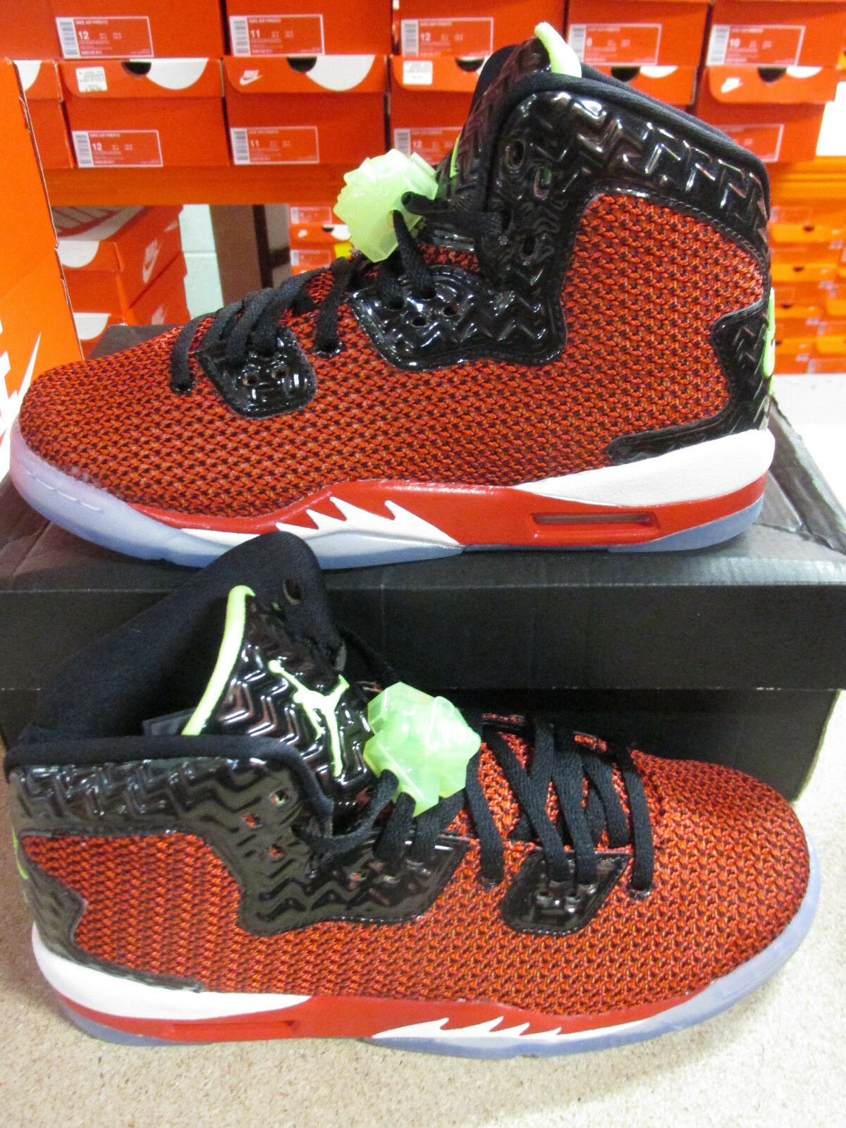 nike air jordan spike forty hi top trainers sneakers shoes